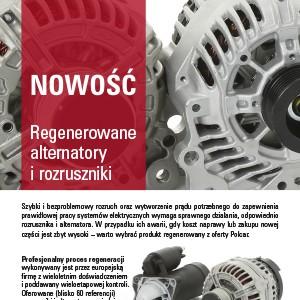 Nowość - Regenerowane alternatory i rozruszniki image