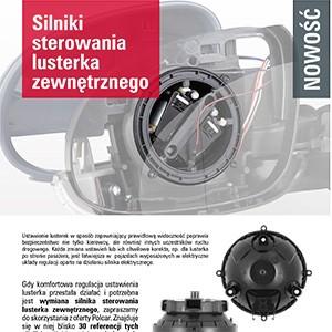 Nowość - Silniki sterowania lusterka zewnętrznego image