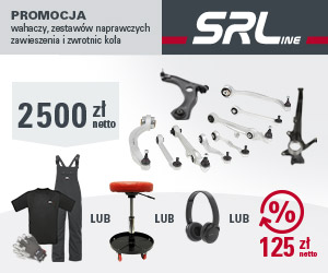 SRLine: wahacze, zestawy naprawcze zawieszenia i zwrotnice image